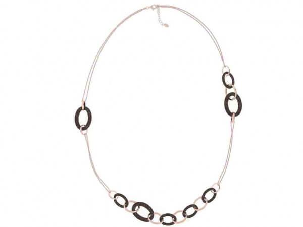Pesavento Halskette mit Polvere in braun