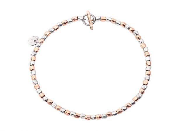 Dodo Granelli Armband Silber - Roségold