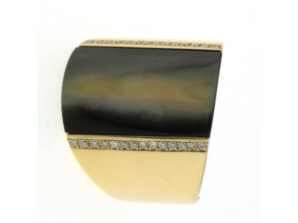 Ring 750 Roségold Perlmutt,Brillanten