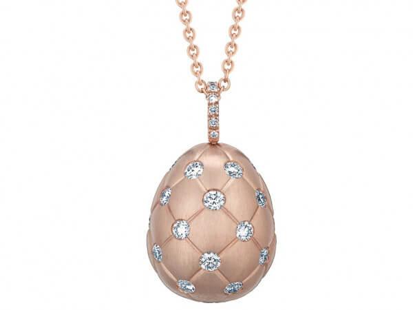 """Fabergé EI """" Treillage Diamond"""" Roségold"""