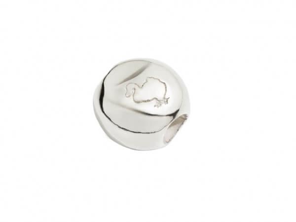 "Komponente ""Pepita"" aus Sterling Silber"