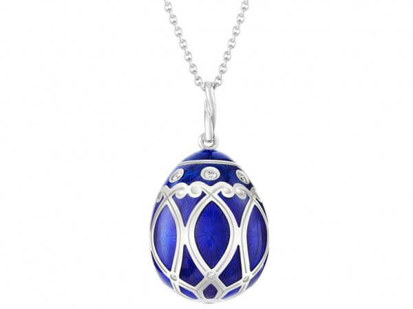"Fabergé Ei ""Palais Yelagin"" royal blue"