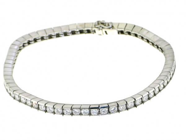 Armband 950 Platin mit Brillanten