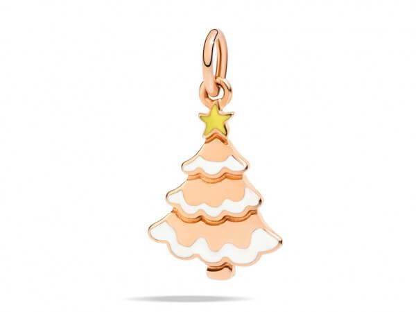 Dod Charms Weihnachtsbaum aus Roségold