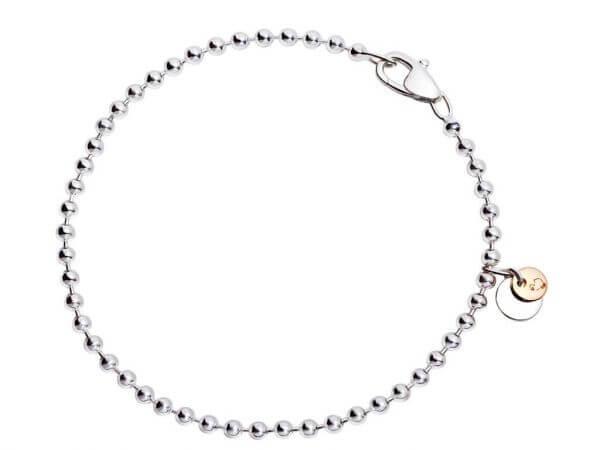 Dodo Bollicine Armband aus Silber 18 cm