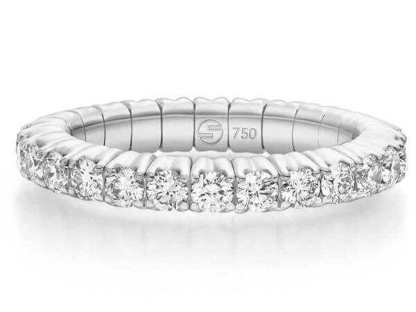 Scheffel stretch Ring Brillanten 1,83 ct