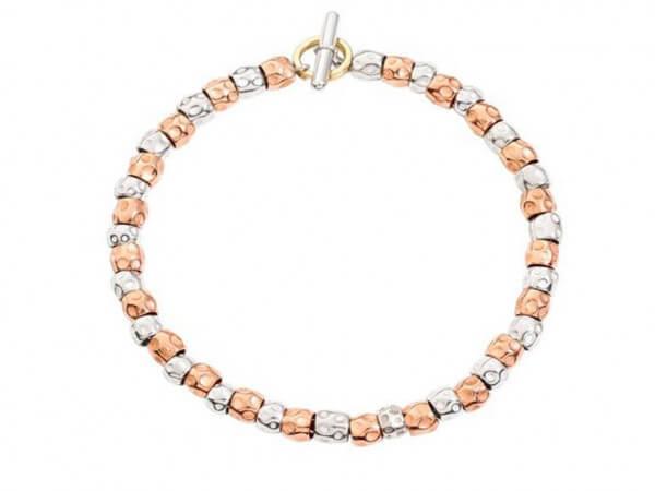 Dodo Granelli Armband Silber / Roségold