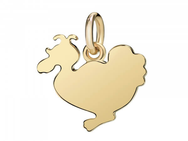 Dodo Charms Lady Dodo aus 18 kt Gelbgold