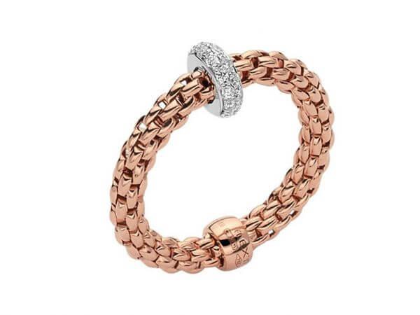 Fope Flexit Prima  Ring aus Roségold