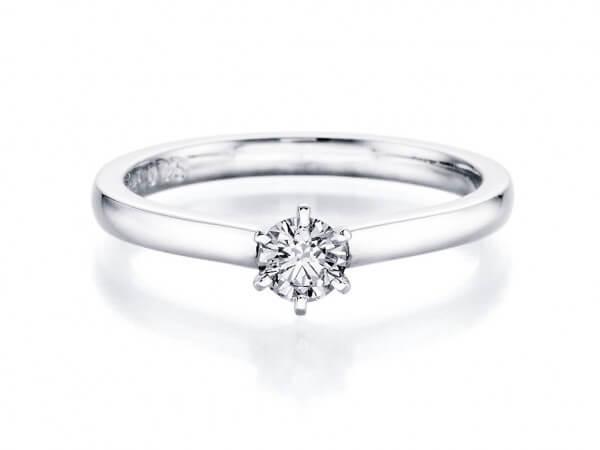 """Solitär Ring """"Harmonie by von Hofen"""""""