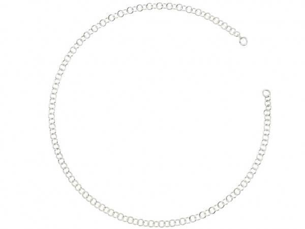 Dodo Silberkette 39 cm lang