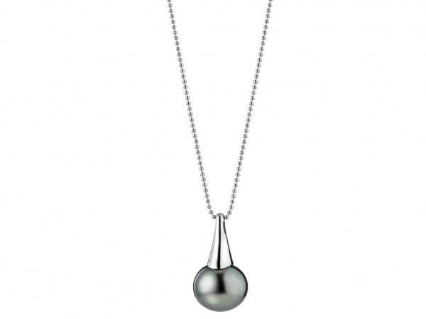 Lange Kette mit Tahiti Perle 14-15 mm